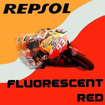 Honda Repsol Fluorescent Red