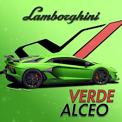 Lamborghini Verde Alceo