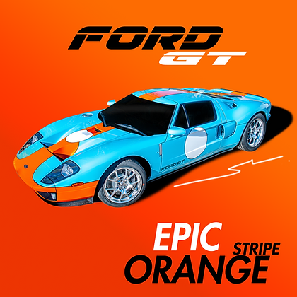 Ford Epic Orange (Stripe)