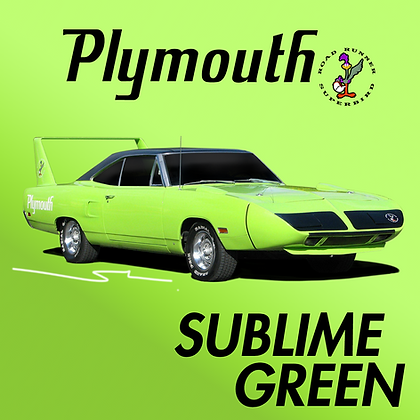 Plymouth Sublime Green