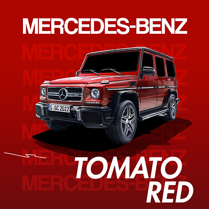 Mercedes Benz Tomato Red