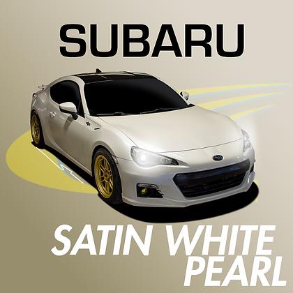 Subaru Satin White Pearl
