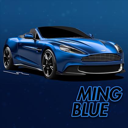 Aston Martin Ming Blue