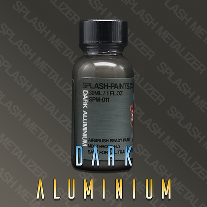 Dark Aluminium SPLASH METALIZER
