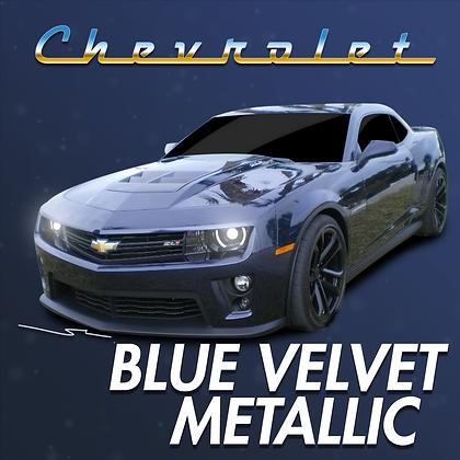 Chevrolet Blue Velvet Metallic