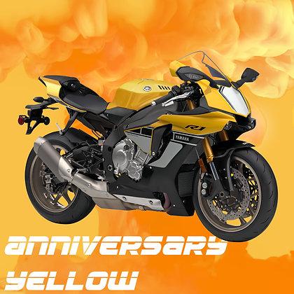 Yamaha Anniversary Yellow