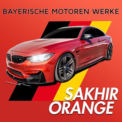 BMW Sakhir Orange