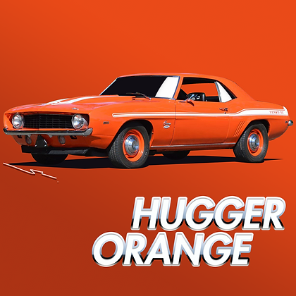 Chevrolet Hugger Orange