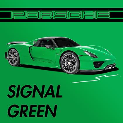 Porsche Signal Green