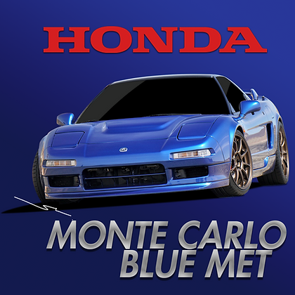 Honda Monte Carlo Blue Metallic