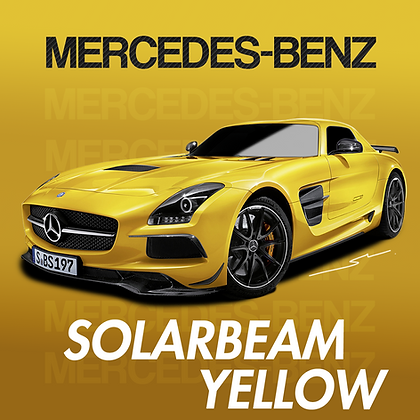 Mercedes-Benz Solarbeam Yellow