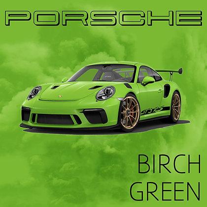 Porsche Birch Green