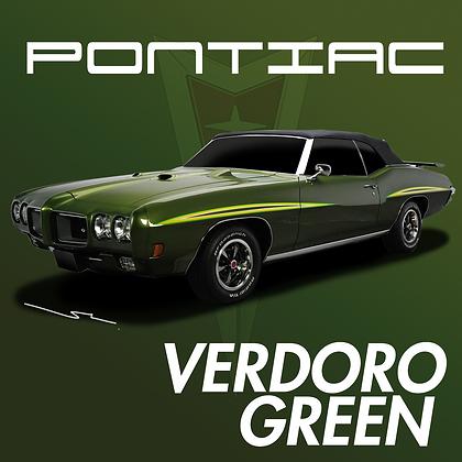 Pontiac Verdoro Green
