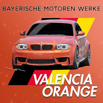 BMW Valencia Orange