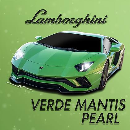 Lamborghini Verde Mantis Pearl