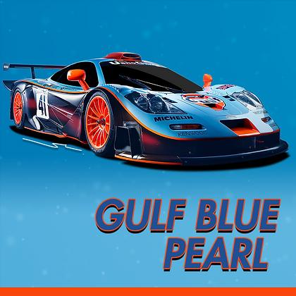 Mclaren Gulf Blue Pearl