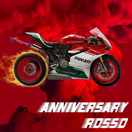 Ducati Anniversary Rosso