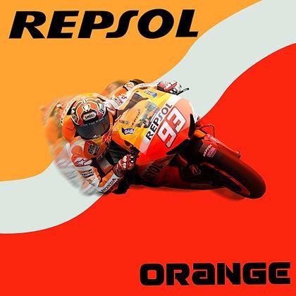 Honda Repsol Vibrant Orange