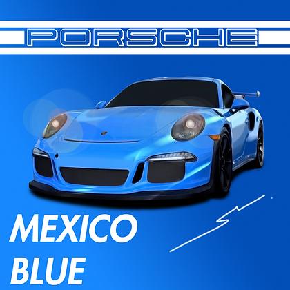 Porsche Mexico Blue
