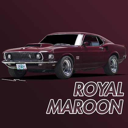Ford Royal Maroon