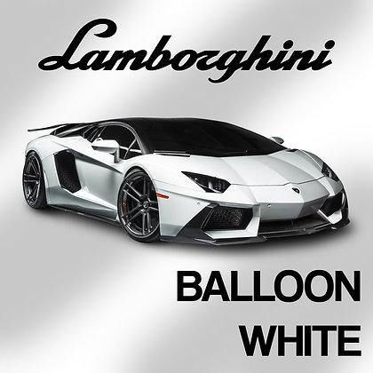 Lamborghini  Balloon White 1oz