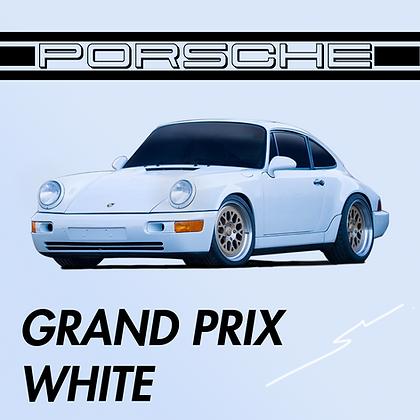 Porsche Grand Prix White
