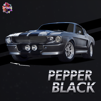 Pepper Black Metallic (Stripe)