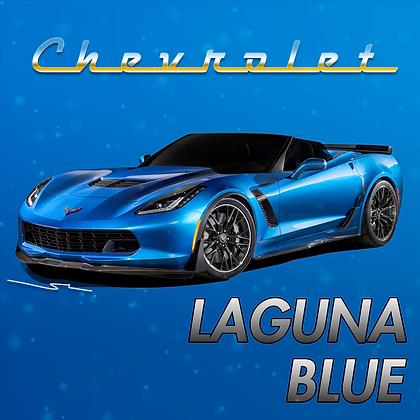 Chevrolet Laguna Blue