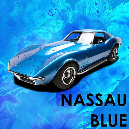 Chevrolet Nassau Blue Metallic