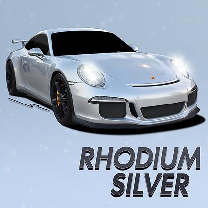 Porsche Rhodium Silver