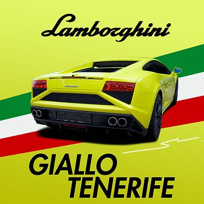 Lamborghini Giallo Tenerife