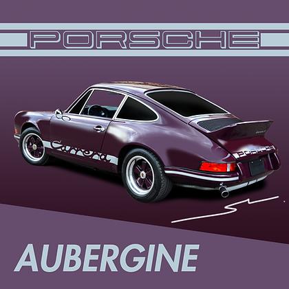 Porsche Aubergine
