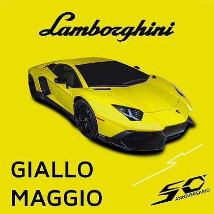 Lamborghini Giallo Maggio