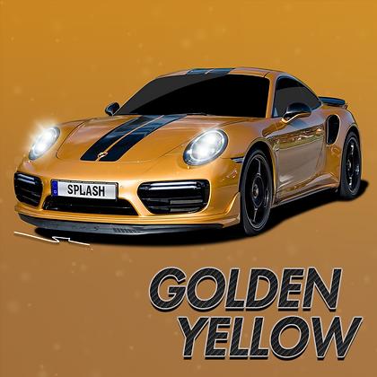 Porsche Golden Yellow