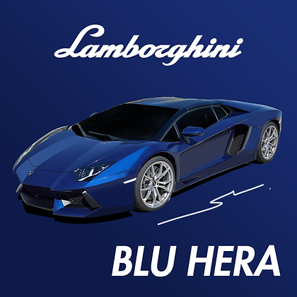 Lamborghini Blu Hera
