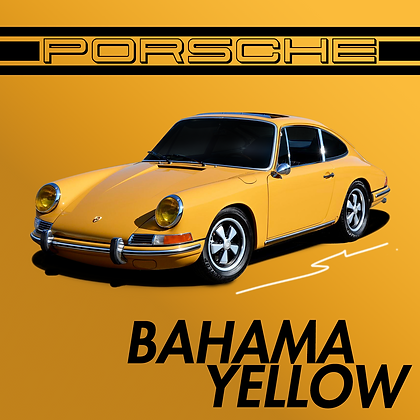 Porsche Bahama Yellow