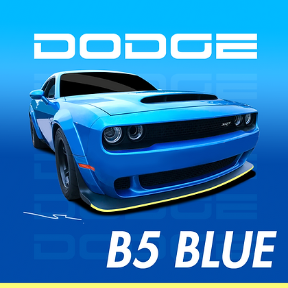 Dodge B5 Blue
