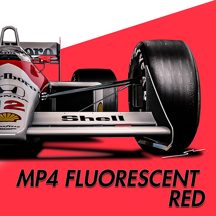 MP4 Fluorescent Red