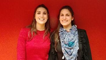 Foto de Melisa y Marianela