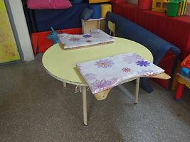 Foto de mesa adaptada de forma casera