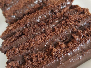 Torta de chocolate Fit Receita