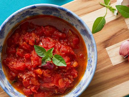 Molho de tomate da Lucília