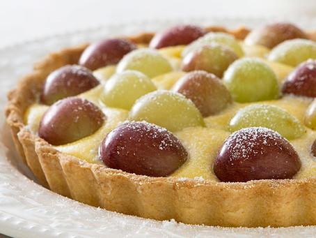 Torta light de uva