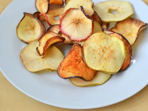 Chips De Maçã: Doce Caseiro E Saudável