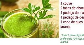 Benefícios do suco verde.