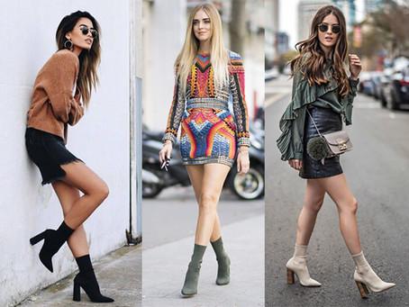 """Alerta de tendência: como usar bota estilo """"meia"""""""