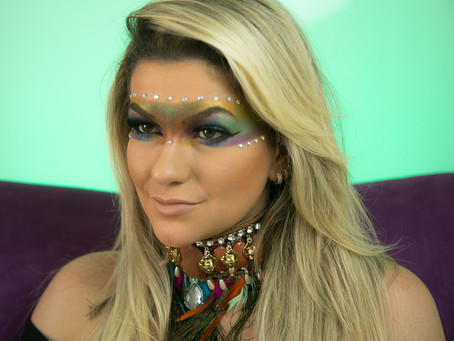 Maquiagem para Carnaval - Inspiração