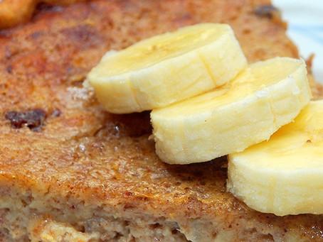 Torta light de banana