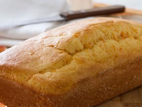 Pão light de cenoura