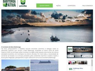 Novo portal do Projeto Babitonga Ativa está no ar
